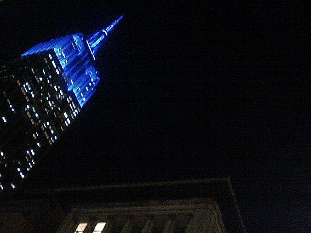 """Uptown (Blue)"", ©Jeff Glovsky"