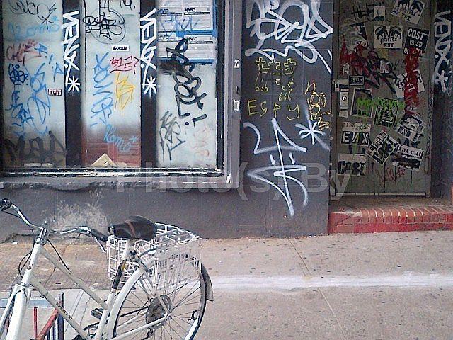"""Jeff Glovsky (Photo By) - """"White Bike"""""""