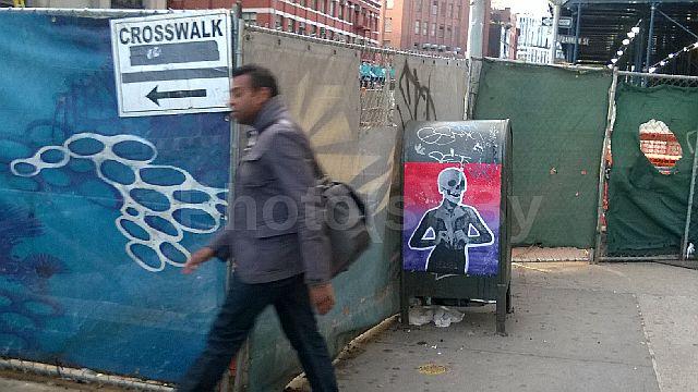 """Jeff Glovsky (Photo By) - """"(Cross)Walk Away"""""""