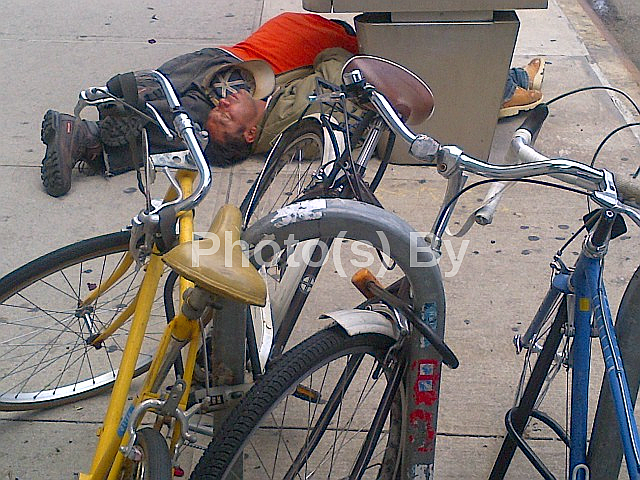 "Jeff Glovsky (Photo By): ""Bike (Parking)"""
