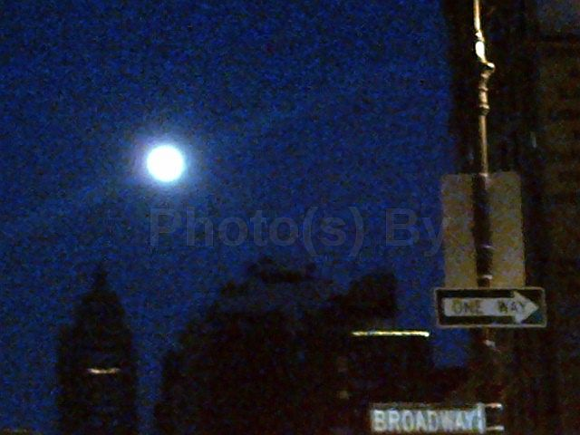 """Photo(s) by Jglo - """"Moon Over Manhattan"""""""